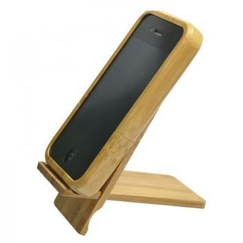 Bamboo Case - Spider Man Color Wood