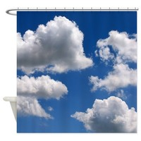 Puffy Clouds Shower Curtain> GREAT SHOWER CURTAINS!> Poptopia