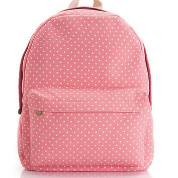 Back To School On Sale Casual College Stylish Comfort Hot Deal Korean Lovely Canvas Backpack [8097648967]