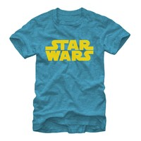 Star Wars Men's - Basic Logo T-Shirt