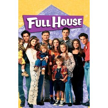 Full House Poster Standup 4inx6in