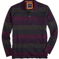 Yarn-Dyed Oxford Stripe Golden Fleece® Polo - Brooks Brothers