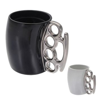 Knuckle Duster Large Mug Fisti cup Coffee Cup Handle Gift