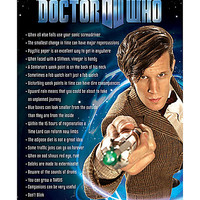 Doctor Who Things I Learned Poster