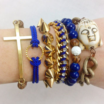 Royal Buddha Bracelet Stack