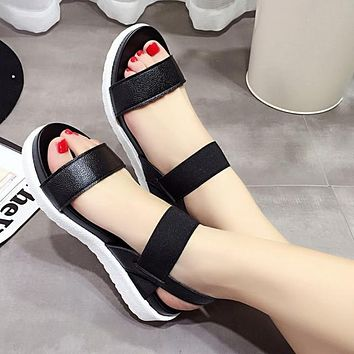 Summer sandals flat Shoes Ladies Flip Flops