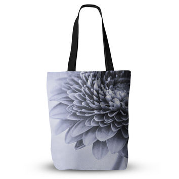 "Iris Lehnhardt ""A Flower"" Grey Petals Everything Tote Bag"
