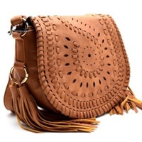 Boho Tassel Go West Handbag