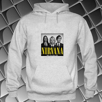 nirvana Hoodies Hoodie Sweatshirt Sweater white and beauty variant color Unisex size