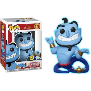 Pop! Genie with Lamp Glow in the Dark Specialty Series