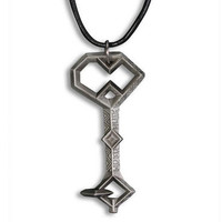 The Hobbit: An Unexpected Journey Key to Erebor Replica Pendant with Leather Cord by Noble |