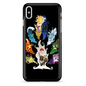 Eeveelution Tree iPhone X Case