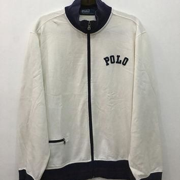 Vintage 90's Rare Polo Sport Ralph Lauren Polo Sport Sweatshirt With Zipper Sweater Si