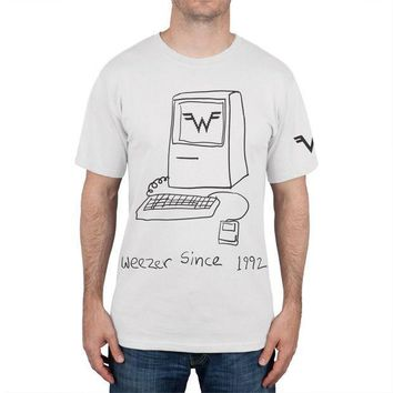 PEAPGQ9 Weezer - Since 1992 T-Shirt