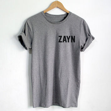 MALIK93 shirt FRONT zayn BACK malik 93 two sides tshirt tumblr Unisex Women,Men shirts Clothing