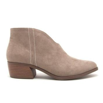Summer Eve Booties in Taupe