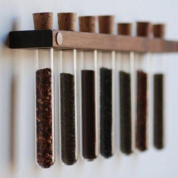 Sleek Tube Spice Rack
