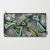 Tribal Zest Carry-All Pouch by ALLY COXON | Society6