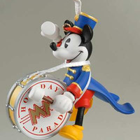 Disney Bandleader Mickey's Holiday Parade Hallmark Keepsake Christmas Ornament - RARE