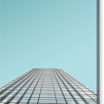 Urban Architecture   Canary Wharf, London, United Kingdom - Canvas Print