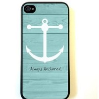 iPhone 5 Case ThinShell Case Protective iPhone 5 Case Beach Wood Anchor Always Anchored