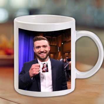 Justin Timberlake - Jimmy Fallon Coffee Mug/Cup