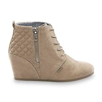 Bongo- -Women's Kedzie Wedge Bootie - Black-Clothing, Shoes & Jewelry-Shoes-Women's Shoes-Women's Boots