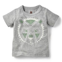 Infant Boy's Tea Collection 'Rangoli Lion' Graphic T-Shirt,