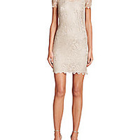 Ralph Lauren Black Label - Lace Cocktail Dress - Saks Fifth Avenue Mobile