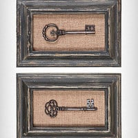 Key Shadowbox Wall Art Set | PLASTICLAND