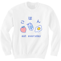 Pre-Order Eat Everyday Sweater