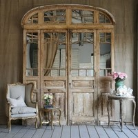 antique french entryway