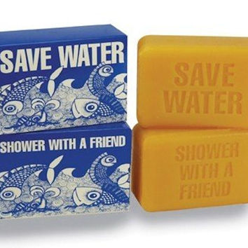 Save Water, Shower With A Friend Sugared Grapefruit Soap, 9 oz