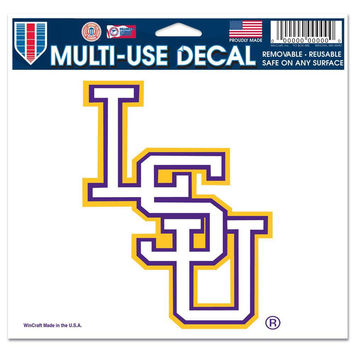 LSU Tigers - Logo 5x6 Multi-Use Decal