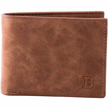 Men's Designer Leather Wallet