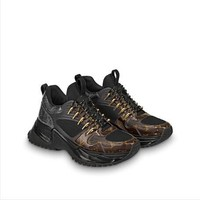 LV Louis Vuitton Woman Men Fashion Sneakers Sport Run Away Pulse Shoes