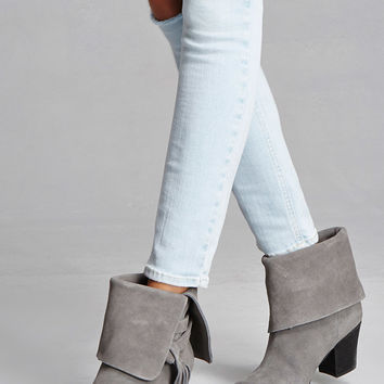 Sbicca Tasseled Booties