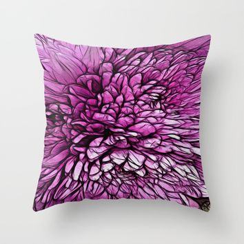 :: Pink Flare :: Throw Pillow by :: GaleStorm Artworks ::
