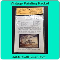 Vintage Painting Packet #24 Doniphan Grainery