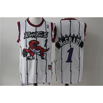 Toronto Raptors 1 Tracy McGrady Retro Swingman Jersey