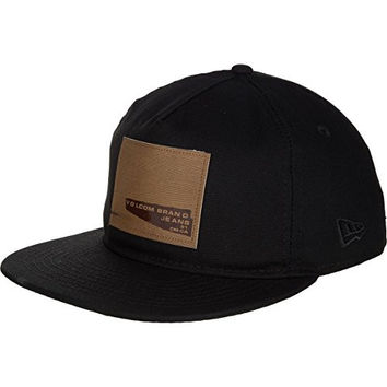Volcom Wefter 5-Panel Snapback Hat Black, One Size