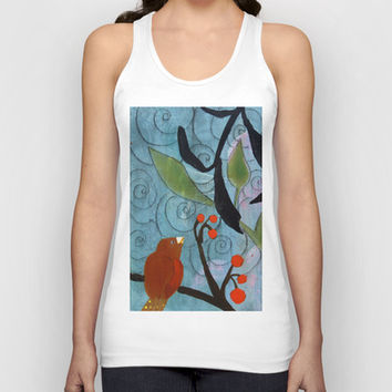 Little Nemo Bird  Unisex Tank Top by Robin Maria Pedrero