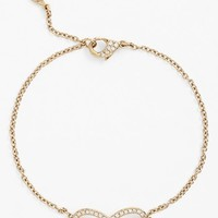 Nadri Boxed Infinity Symbol Station Bracelet (Nordstrom Exclusive)
