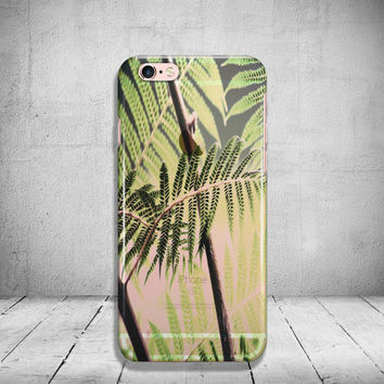 Leaves iPhone 6 Case  Clear iPhone 6s Case Transparent iPhone 6 Plus Case iPhone 5/ 5s/ SE Case Soft Silicone iPhone Case
