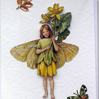 Fairy Hand-Crafted 3D Decoupage Card - Blank for any Occasion (1587)