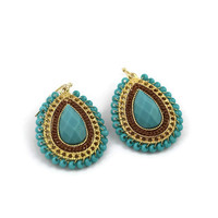 Layered Eyelet Earrings