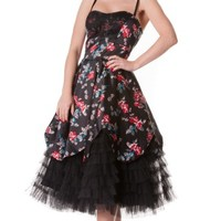 Buy Dark Lady Dress by Hell Bunny