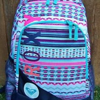 ROXY Aztec Geo Backpack Book Bag NEW