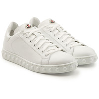 Fifi Leather Sneakers - Moncler | WOMEN | KR STYLEBOP.COM