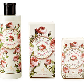 Rose Soap, Hand Cream & Body Lotion, Set of 3, Personal Care Sets